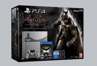 "ps fat batman limited baner 320x220 - PlayStation 4 FAT 500GB ""Batman Arkham Knight"" Limited Edition"