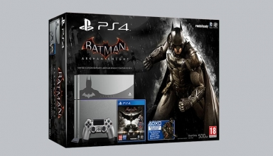 "ps fat batman limited baner 384x220 - PlayStation 4 FAT 500GB ""Batman Arkham Knight"" Limited Edition"