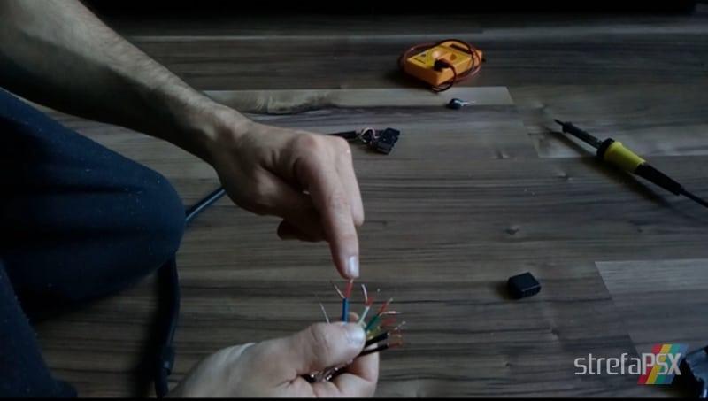 kabel rgb psx poradnik 07 - Budowa wysokiej jakości kabla RGB na wzór oryginalnego Sony