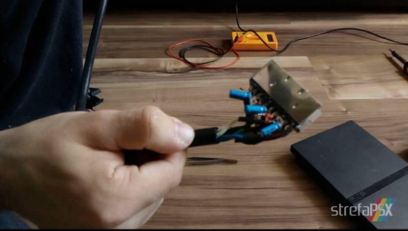 kabel rgb psx poradnik 08 - Budowa wysokiej jakości kabla RGB na wzór oryginalnego Sony