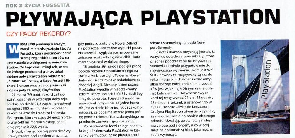 katamaran playstation 7 - Historia i losy katamaranu PlayStation