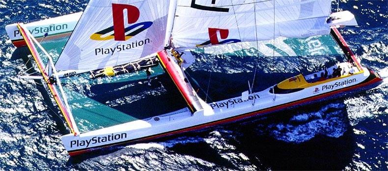 playstation katamaran 2 - Historia i losy katamaranu PlayStation