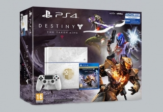"""ps4 destiny baner new 320x220 - PlayStation 4 FAT 500 GB """"Destiny: The Taken King"""" Limited Edition"""