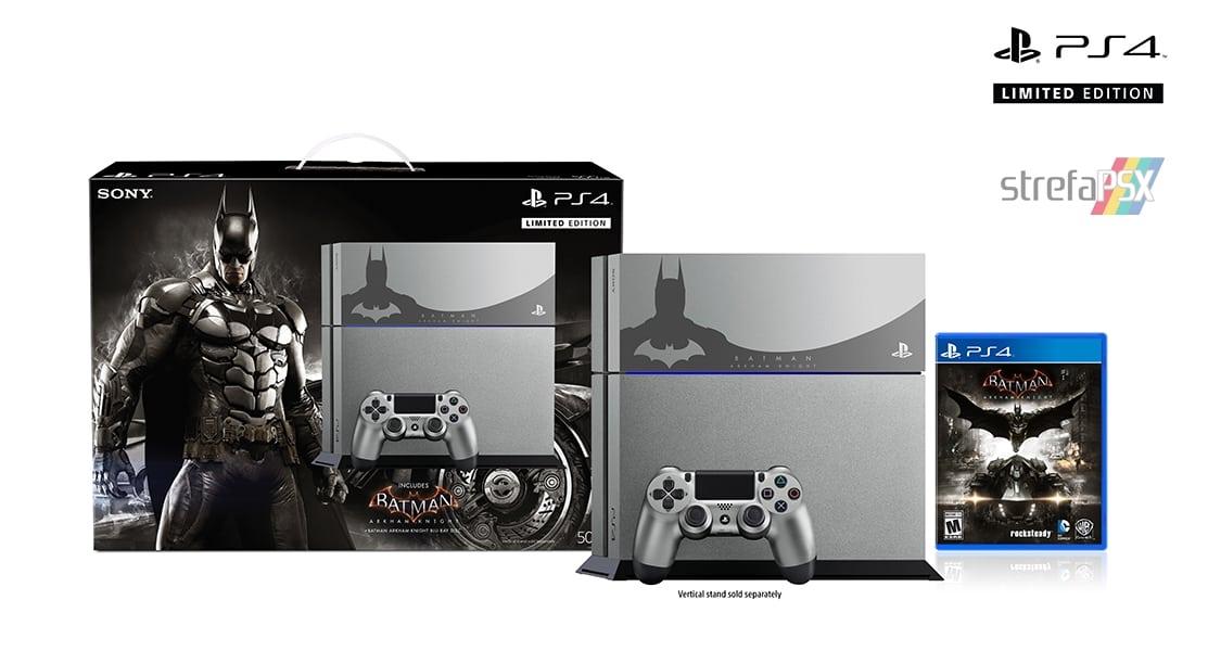 "ps4 fat batman arkham all 03 - PlayStation 4 FAT 500GB ""Batman Arkham Knight"" Limited Edition"