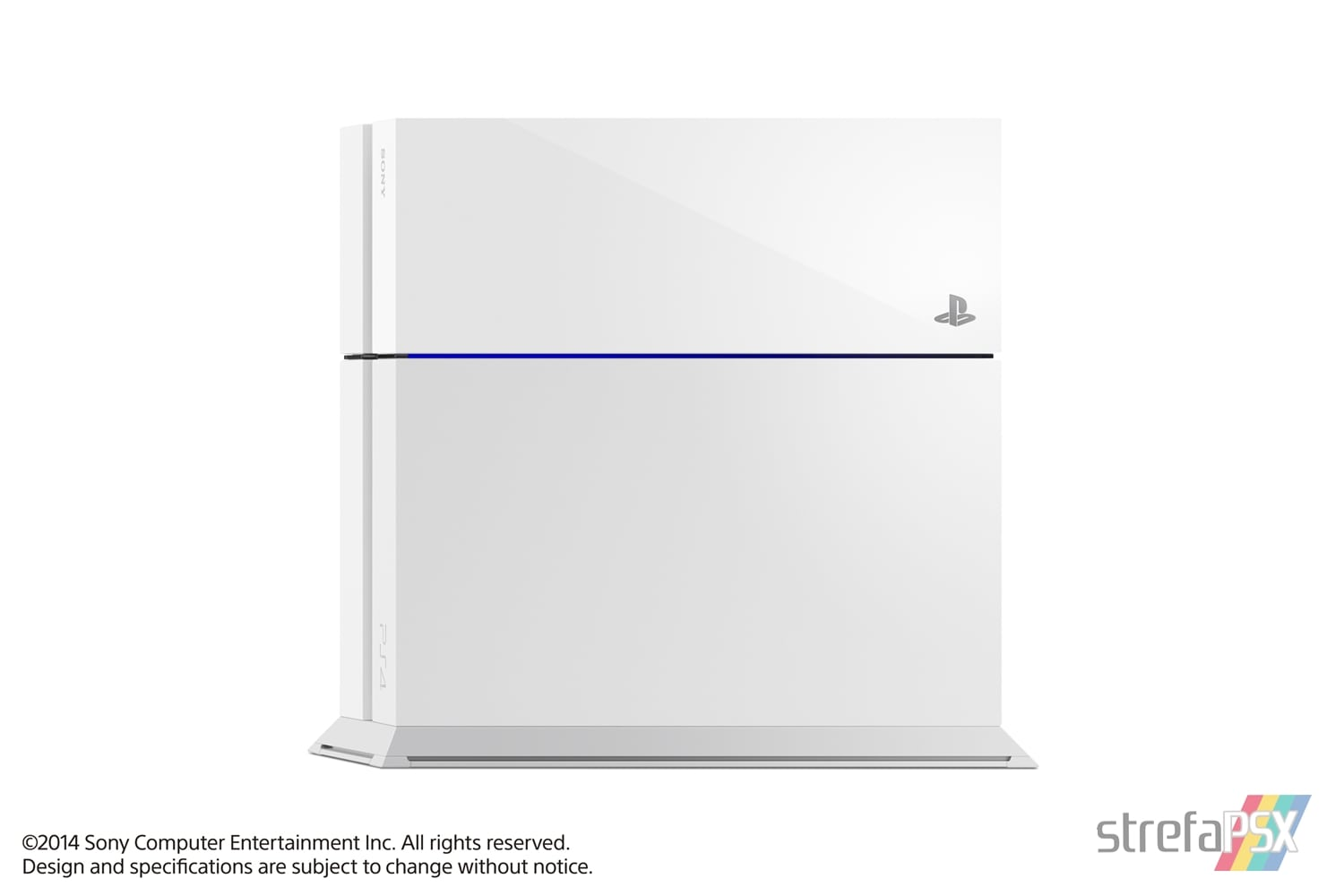 "ps4 fat glacier white console06 - PlayStation 4 FAT 500GB CUH-11xxA ""Glacier White"""