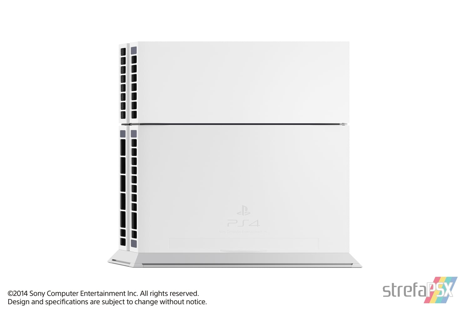 "ps4 fat glacier white console09 - PlayStation 4 FAT 500GB CUH-11xxA ""Glacier White"""