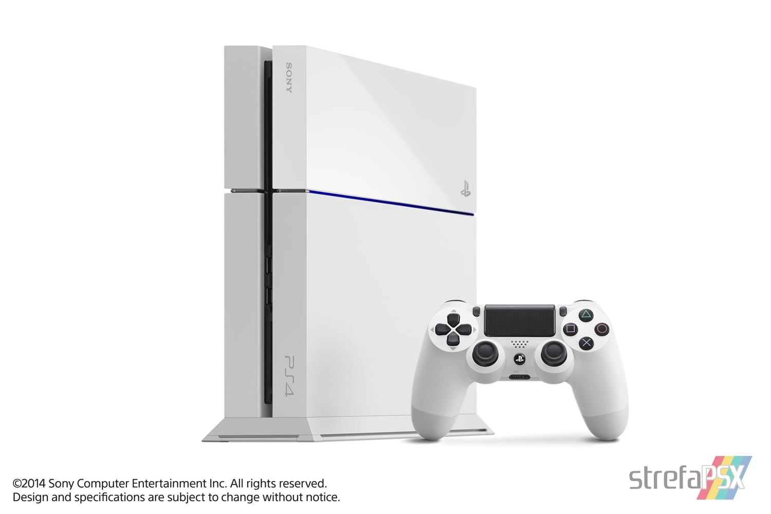 "ps4 fat glacier white pack 01 - PlayStation 4 FAT 500GB CUH-11xxA ""Glacier White"""