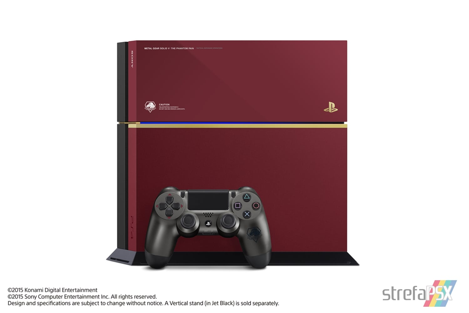 "ps4 fat metal gear solid limited 03 - PlayStation 4 FAT 500GB ""Metal Gear Solid V: The Phantom Pain"" Limited Edition"