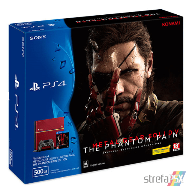 "ps4 fat metal gear solid limited box 03 - PlayStation 4 FAT 500GB ""Metal Gear Solid V: The Phantom Pain"" Limited Edition"