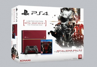 "ps4 fat mgs baner 320x220 - PlayStation 4 FAT 500GB ""Metal Gear Solid V: The Phantom Pain"" Limited Edition"