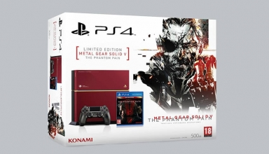 "ps4 fat mgs baner 384x220 - PlayStation 4 FAT 500GB ""Metal Gear Solid V: The Phantom Pain"" Limited Edition"