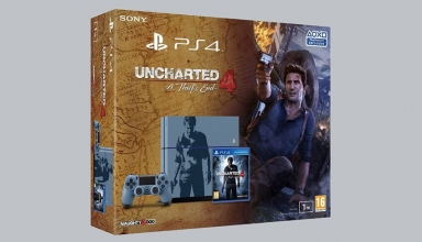 "ps4 uncharted 4 baner 384x220 - PlayStation 4 FAT 500GB / 1TB ""Uncharted 4: A Thief's End"" Limited Edition"