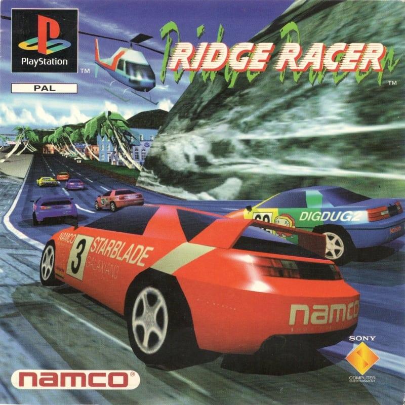ridge racer sces 00001 - Początki PlayStation w Polsce - Jak to się zaczęło?