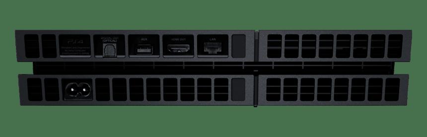 """cuh1200ab01 04 - PlayStation 4 FAT 500GB CUH-12xxA """"Jet Black"""""""