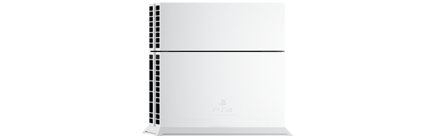 "cuh1200ab02 08 - PlayStation 4 FAT 500GB CUH-12xxA ""Glacier White"""