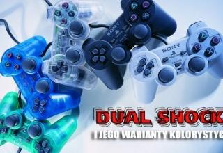 dual shock kolory baner 320x220 - Kontrolery Sony część II – DualShock i jego wszystkie warianty kolorystyczne