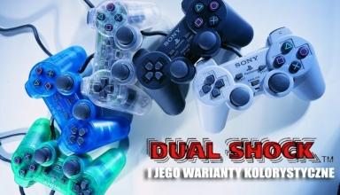 dual shock kolory baner 384x220 - Kontrolery Sony część II – DualShock i jego wszystkie warianty kolorystyczne