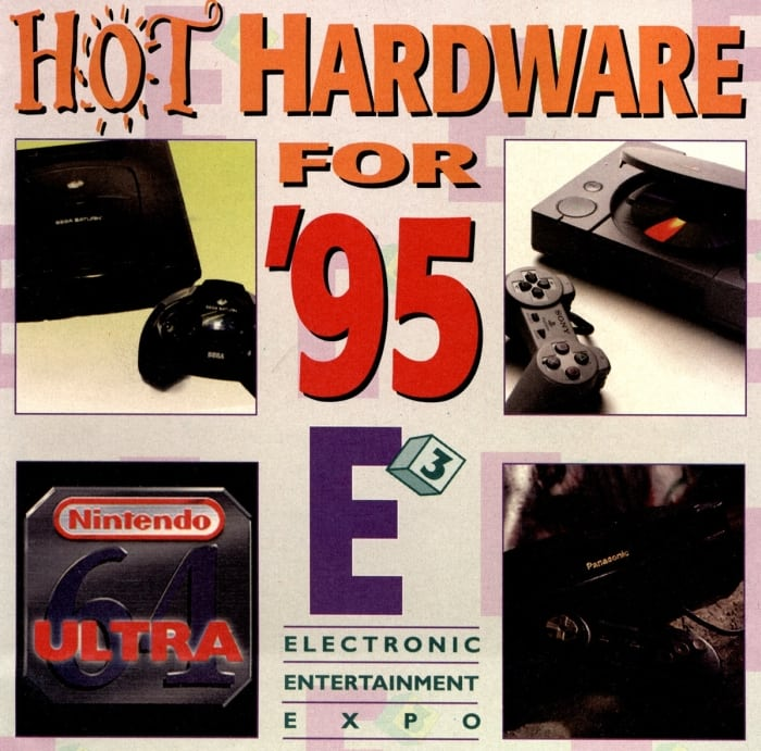 e3 1995 ad - Historia targów E3 z 1995 roku. Przełomowy moment w historii gier.