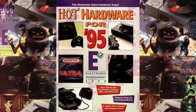e3 1995 baner strefa new 384x220 - Historia targów E3 z 1995 roku. Przełomowy moment w historii gier.