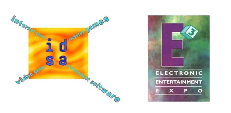 idsa e3 1995 logo - Historia targów E3 z 1995 roku. Przełomowy moment w historii gier.