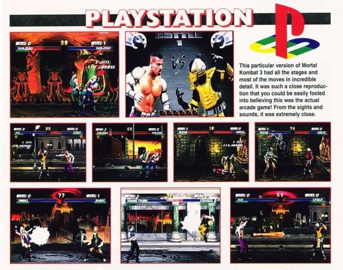 mortal kombat 3 e3 95 - Historia targów E3 z 1995 roku. Przełomowy moment w historii gier.