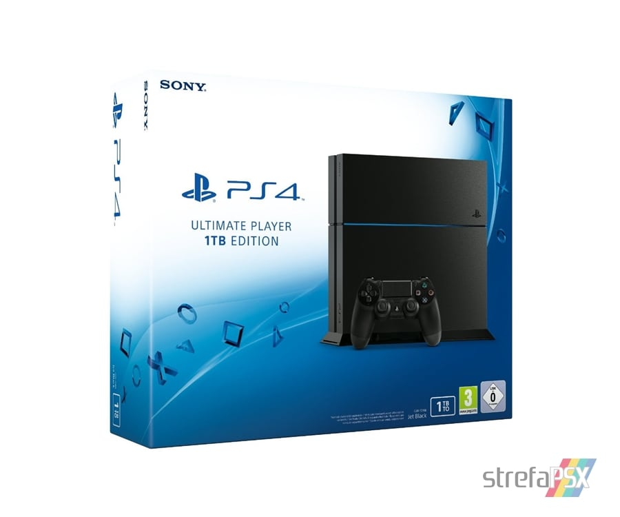 "ps4 1tb cuh 12xxb 05 - PlayStation 4 FAT 1TB Ultimate Player Edition CUH-12xxB ""Jet Black"""