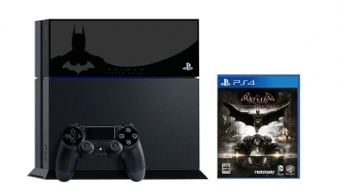 "ps4 batman limited baner 384x220 - PlayStation 4 FAT 500GB ""Batman: Arkham Knight"" HDD Cover Limited Edition"