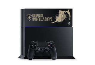 "ps4 biohazard limited baner 320x220 - PlayStation 4 FAT 500GB / 1TB ""Resident Evil Special Pack"" HDD Cover Limited Edition"