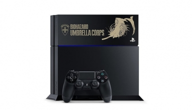 "ps4 biohazard limited baner 384x220 - PlayStation 4 FAT 500GB / 1TB ""Resident Evil Special Pack"" HDD Cover Limited Edition"