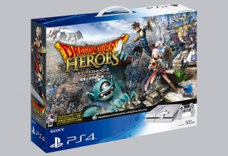 "ps4 dragon quest heroes baner 320x220 - PlayStation 4 FAT 500GB ""Dragon Quest Metal Slime Edition"" Limited Edition"