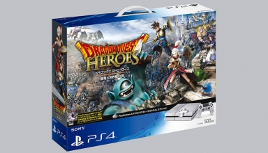 "ps4 dragon quest heroes baner 384x220 - PlayStation 4 FAT 500GB ""Dragon Quest Metal Slime Edition"" Limited Edition"