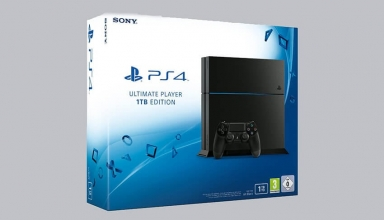 "ps4 fat 1tb cuh 12xxb ultimate 384x220 - PlayStation 4 FAT 1TB Ultimate Player Edition CUH-12xxB ""Jet Black"""