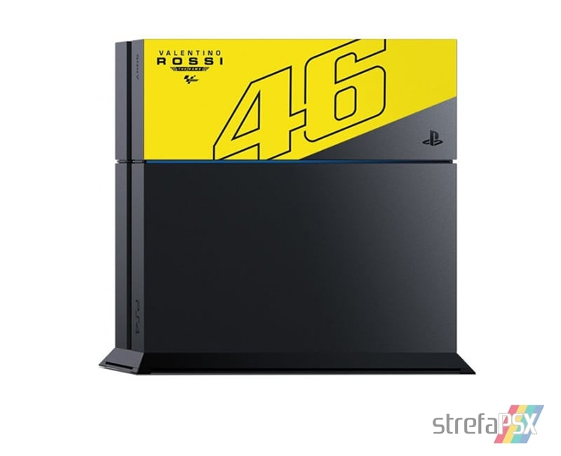 "ps4 fat valentino rossi 01 - PlayStation 4 FAT 1TB ""Valentino Rossi"" Limited Edition"