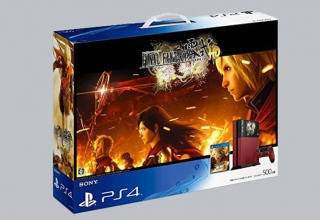 "ps4 final fantasy type 0 baner 320x220 - PlayStation 4 FAT 500GB ""Final Fantasy Type 0 HD"" Suzaku Edition"