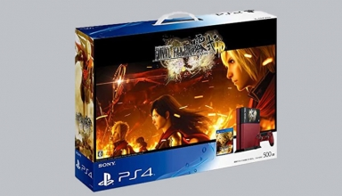 "ps4 final fantasy type 0 baner 384x220 - PlayStation 4 FAT 500GB ""Final Fantasy Type 0 HD"" Suzaku Edition"