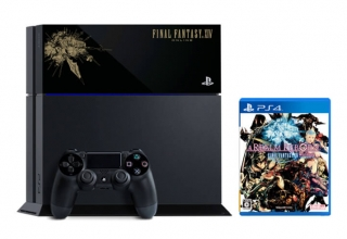 "ps4 final fantasy xiv limited baner 320x220 - PlayStation 4 FAT 500GB ""Final Fantasy XIV: A Realm Reborn"" HDD Cover Limited Edition"