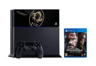 """ps4 fox edition limited baner 320x220 - PlayStation 4 FAT 500GB """"MGS V: Ground Zeroes Fox Edition"""" HDD Cover Limited Edition"""
