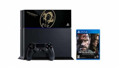 "ps4 fox edition limited baner 384x220 - PlayStation 4 FAT 500GB ""MGS V: Ground Zeroes Fox Edition"" HDD Cover Limited Edition"
