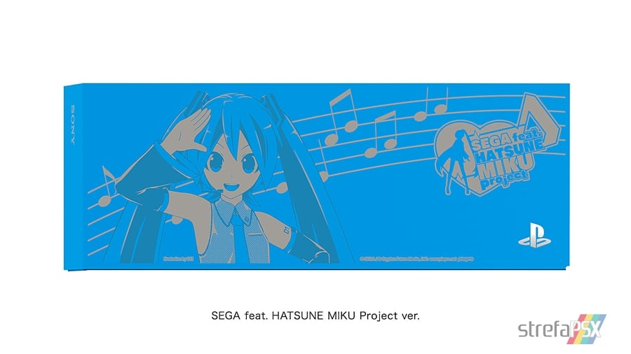 """ps4 hatsune miku limited 04 - PlayStation 4 FAT 500GB / 1TB """"Hatsune Miku - Project DIVA"""" HDD Cover Limited Edition"""