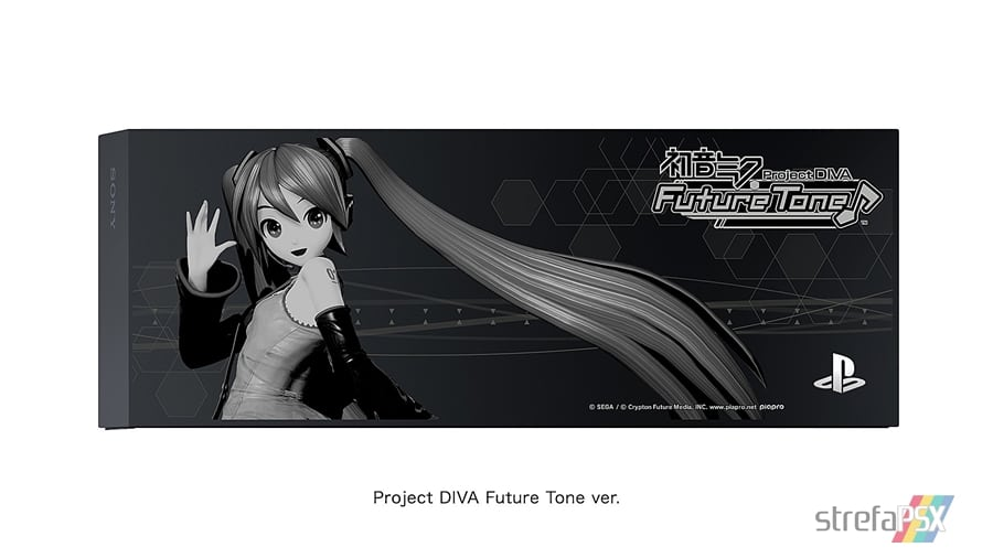 """ps4 hatsune miku limited 06 - PlayStation 4 FAT 500GB / 1TB """"Hatsune Miku - Project DIVA"""" HDD Cover Limited Edition"""