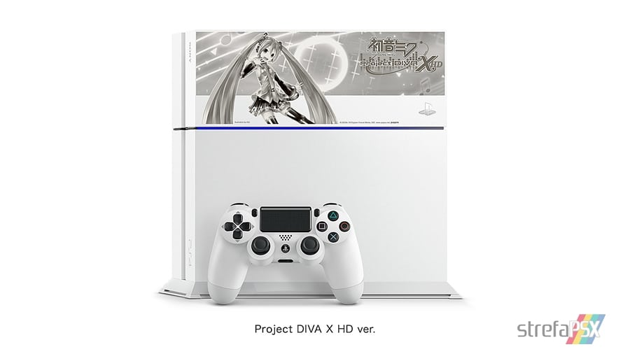 """ps4 hatsune miku limited 07 - PlayStation 4 FAT 500GB / 1TB """"Hatsune Miku - Project DIVA"""" HDD Cover Limited Edition"""