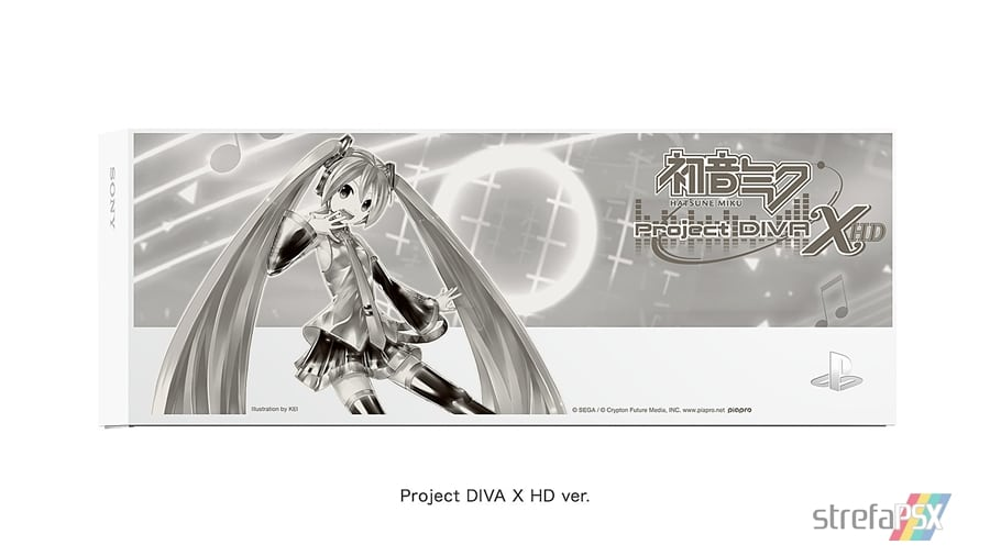 """ps4 hatsune miku limited 08 - PlayStation 4 FAT 500GB / 1TB """"Hatsune Miku - Project DIVA"""" HDD Cover Limited Edition"""
