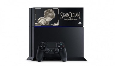 "ps4 star ocean 5 limited baner 384x220 - PlayStation 4 FAT 500GB / 1TB ""Star Ocean 5"" HDD Cover Limited Edition"