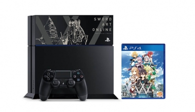 "ps4 sword art online limited baner 384x220 - PlayStation 4 FAT 500GB ""Sword Art Online"" HDD Cover Limited Edition"