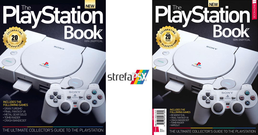 "the playstation book porownanie - Recenzja ""The PlayStation Book"" od twórców Retro Gamera"