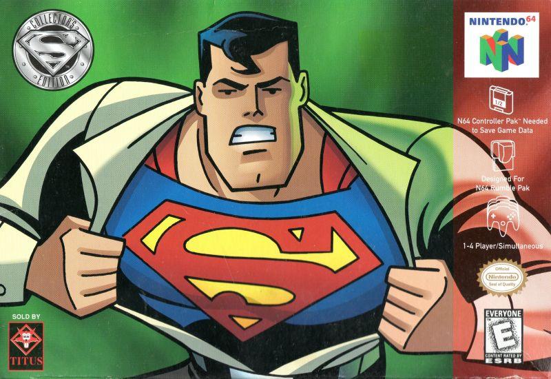 superman n64 - Prototyp gry Superman na PSX ma wkrótce trafić do sieci. Zapraszam na gameplay z gry.