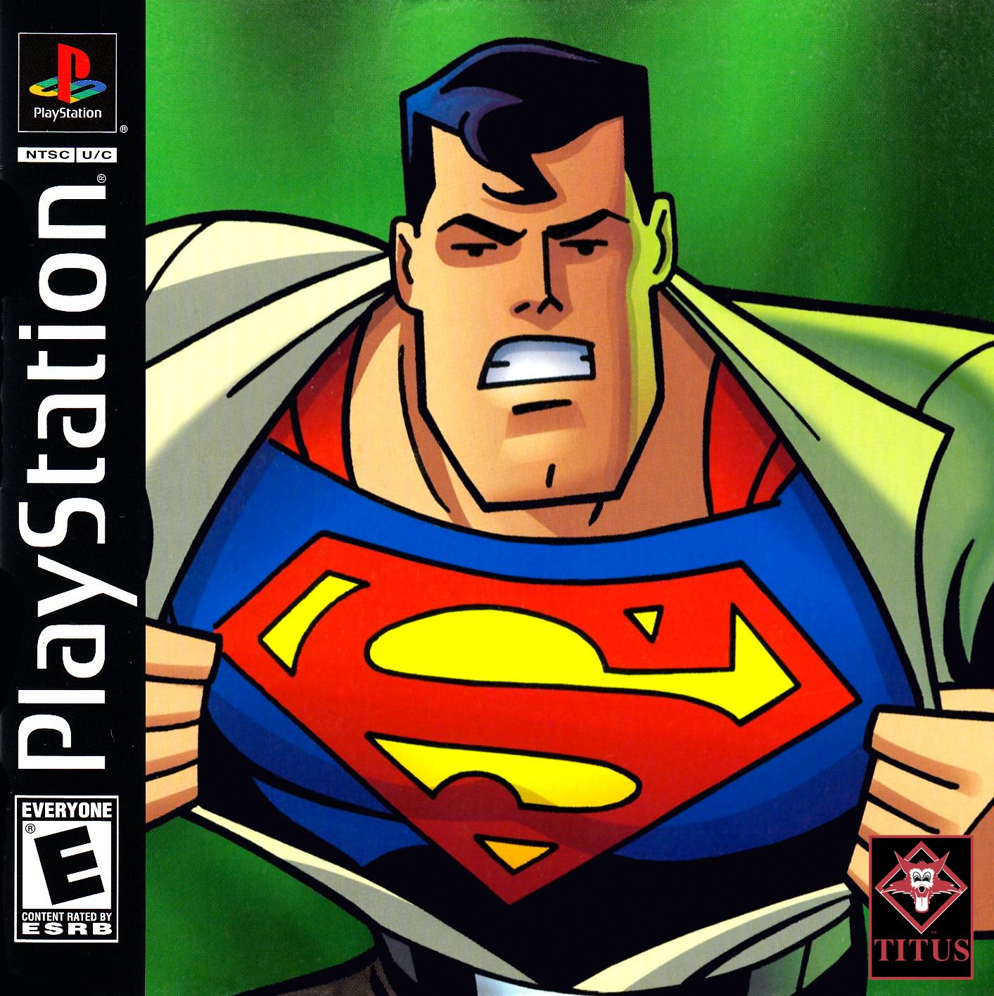 superman psx - Prototyp gry Superman na PSX ma wkrótce trafić do sieci. Zapraszam na gameplay z gry.