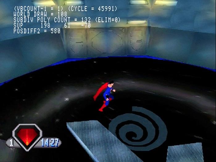 superman psx 01 - Prototyp gry Superman na PSX ma wkrótce trafić do sieci. Zapraszam na gameplay z gry.