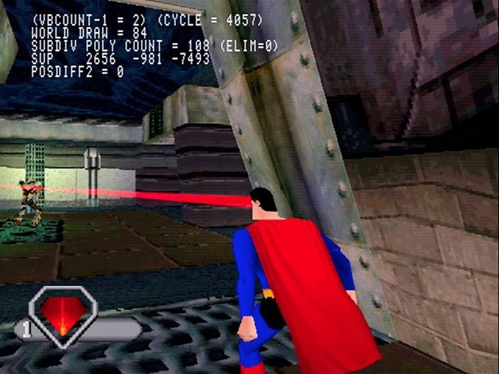 superman psx 04 - Prototyp gry Superman na PSX ma wkrótce trafić do sieci. Zapraszam na gameplay z gry.