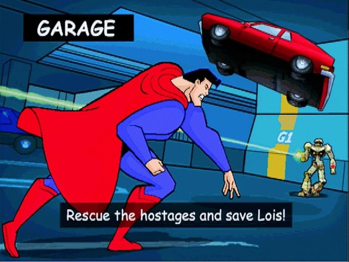 superman psx 06 - Prototyp gry Superman na PSX ma wkrótce trafić do sieci. Zapraszam na gameplay z gry.